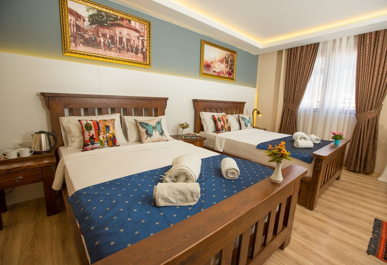 The Peraport Hotel, Istanbul, Deluxe Quadruple Room, City View, Guest Room