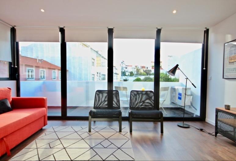 Akicity Rato Hemel, Lisbon, Apartment, 2 Bedrooms, Balcony, Living Room