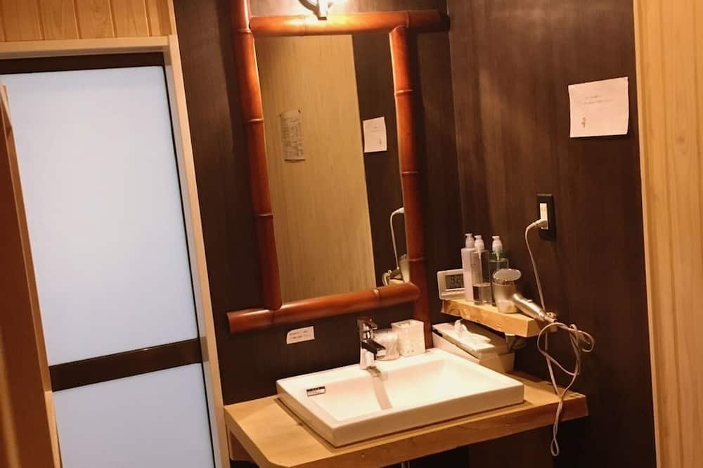 Japanese Style Room with Private Bathroom - Bathroom Sink