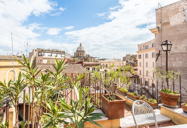 RSH Pallaro Terrace Stunning View, Rome, Apartment, 2 Bedrooms, Terrace/Patio