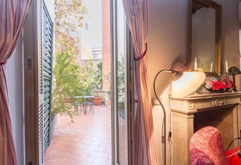 巴貝里尼陽台公寓酒店, Rome, 公寓, 2 間臥室, 客廳