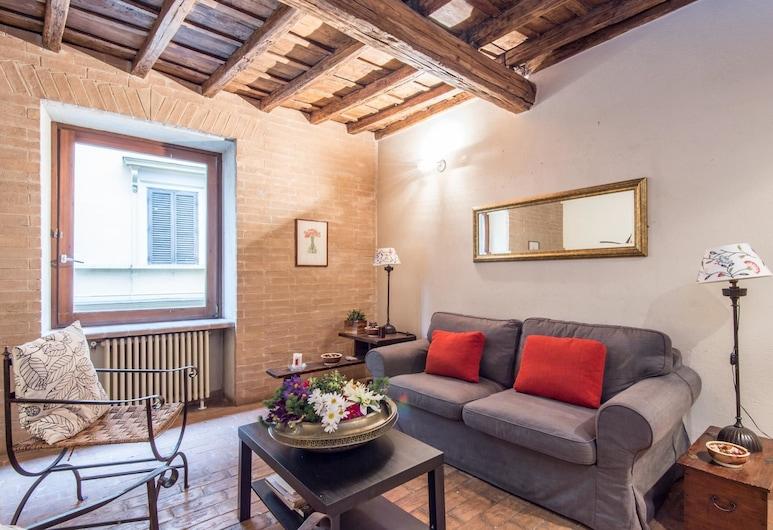 RSH Elegant Apartment Campo dei Fiori, Rome, Apartment, 2 Bedrooms, Living Area