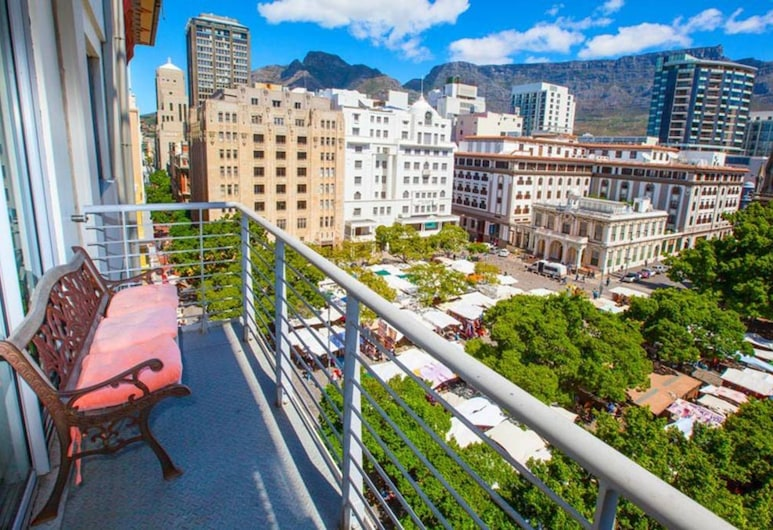 Homely Apartment at Greenmarket Square, Cape Town, Balcony