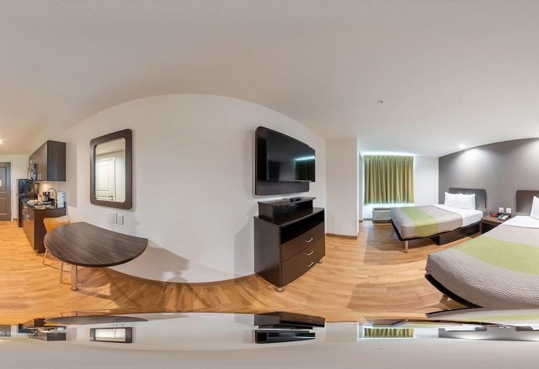 Studio 6 Lake Charles, LA, Lake Charles, Habitación Deluxe, 2 camas dobles, para no fumadores, cocina básica, Habitación