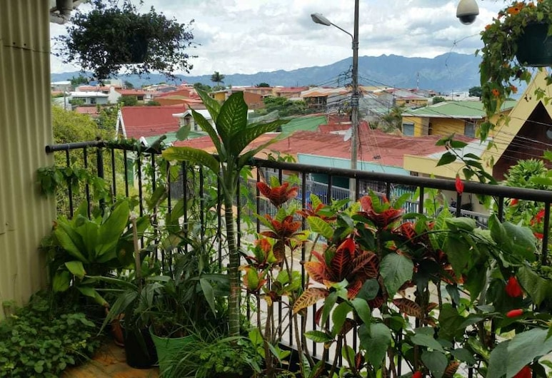 María's House, San Jose, Double Room, 1 Double Bed, Private Bathroom (Balcony), Terrace/Patio