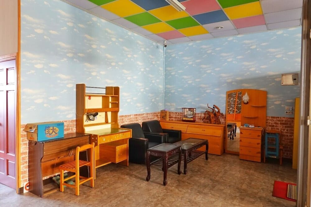 Economy Shared Dormitory - Living Area