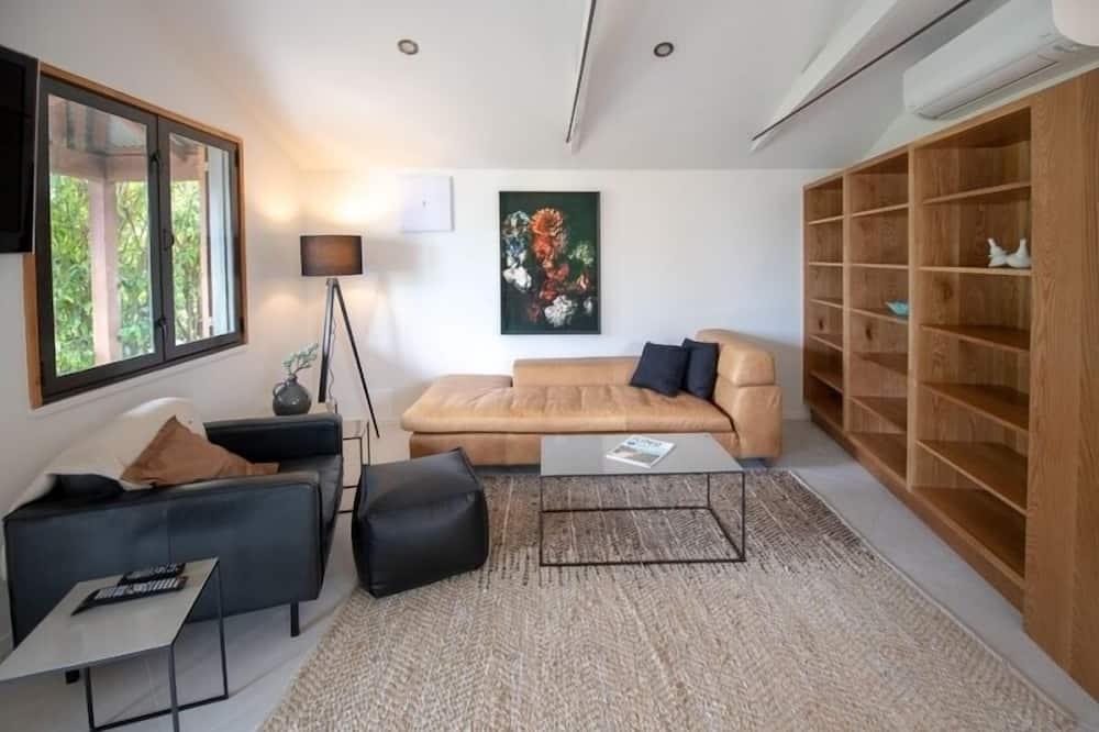 Suite, 2 camere da letto, vista vigneti - Area soggiorno