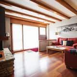 Apartmán, 3 spálne, výhľad na hory (Nere) - Obývačka