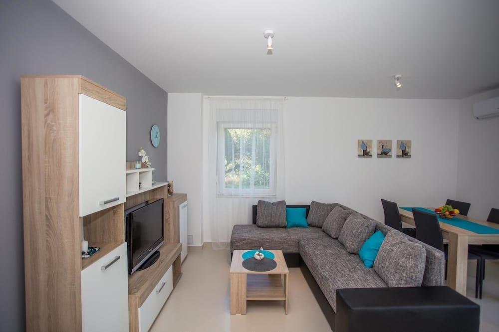 公寓, 1 张双人床和 1 张沙发床 - 起居室