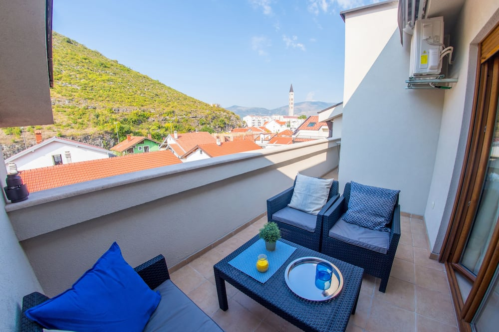 City Apart Daire, Balkon - Balkon