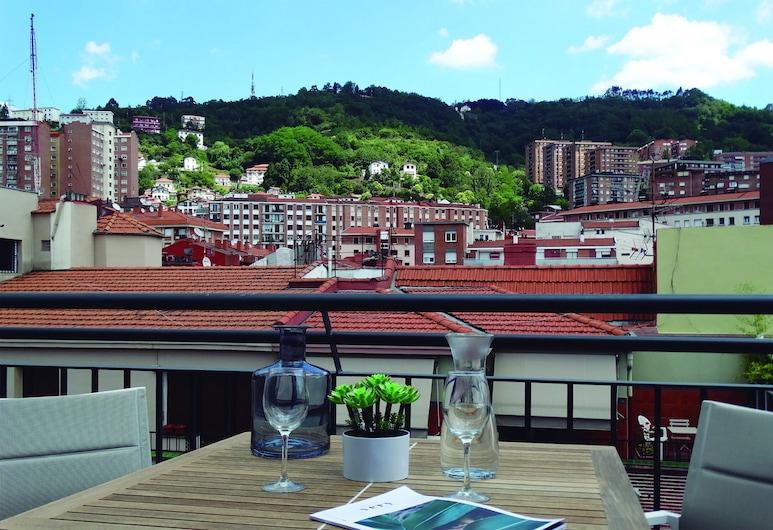 畢爾巴鄂市中心 - 阿巴套房酒店, 畢爾巴鄂, 開放式客房, 露台, 陽台