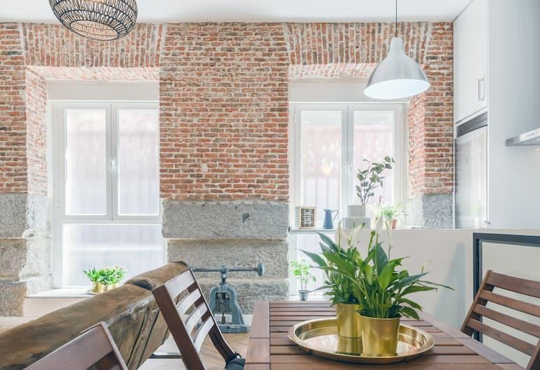 Charming La Latina Green, Madrid, Lägenhet - 1 sovrum, Vardagsrum