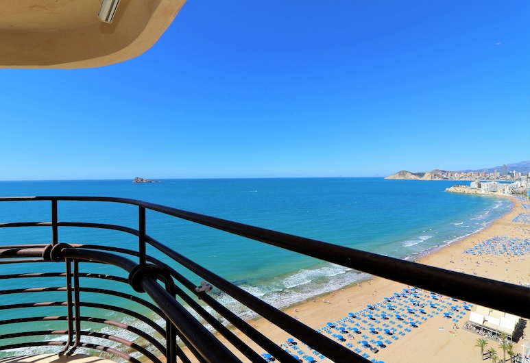 Apartamento Las Arenas 17-P, Benidorm, Appartamento, 2 camere da letto, balcone, vista mare, Balcone