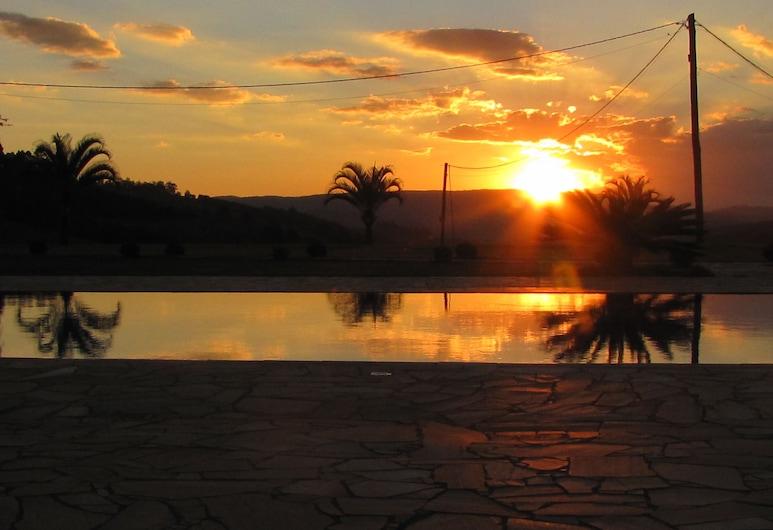 琳达景观旅馆, 索科罗, 住宿外的陆地景色