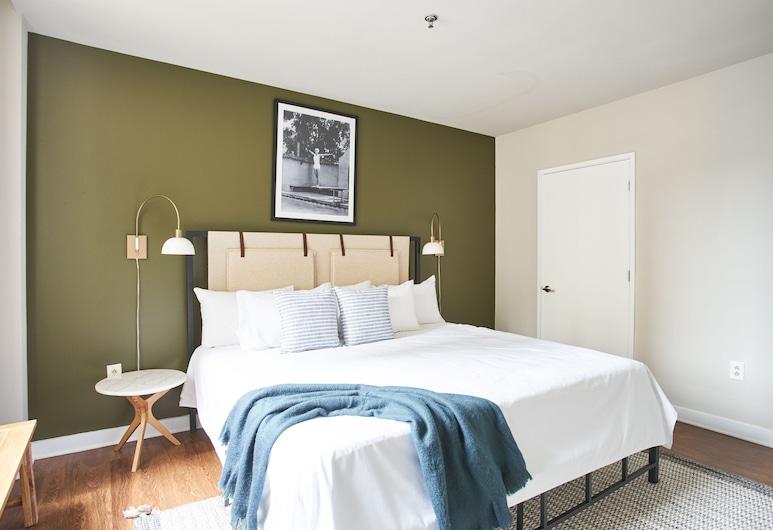 Sonder - Liberty Place, פילדלפיה, סוויטת דה-לוקס, חדר שינה אחד, חדר
