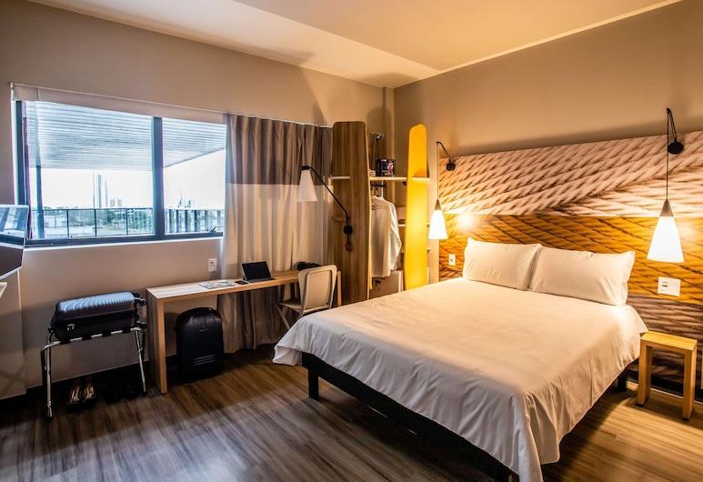Ibis Palmas Avenida JK, Palmas, Phòng đôi, 1 giường đôi và sofa giường, Phòng