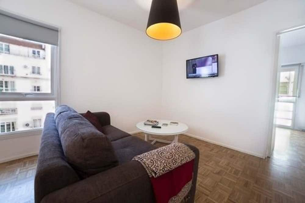 Apartment, 1 Queen-Bett, eigenes Bad - Wohnbereich
