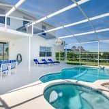 Villa, 5 hálószobával - Beltéri medence