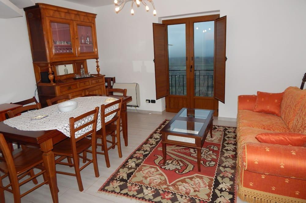 Maison Confort, 2 chambres, vue montagne - Salle de séjour