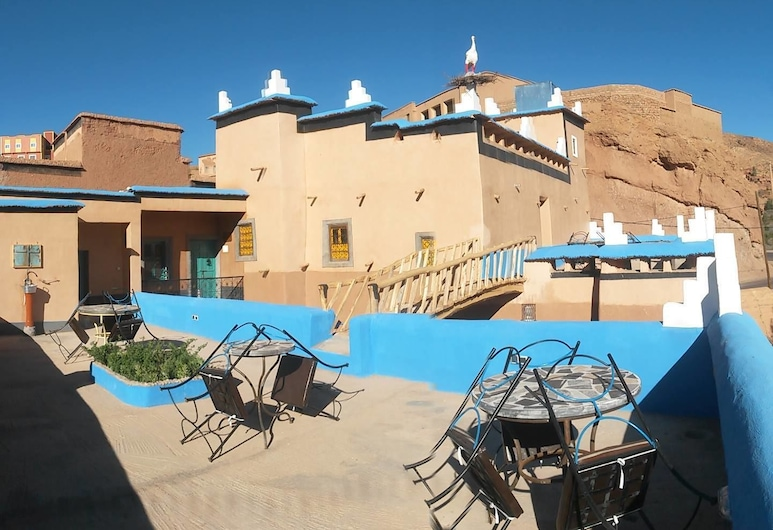 Labyrinth Kasbah Dades, Ait Youl, Terrace/Patio