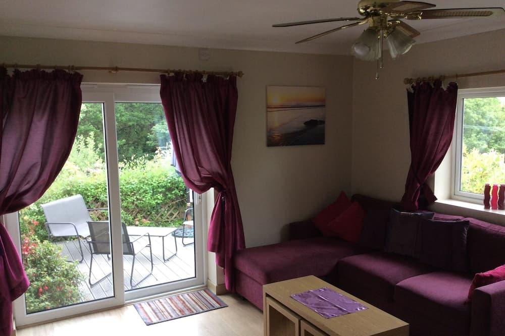 Chatka, 1 spálňa, súkromná kúpeľňa (Lodge 3) - Obývačka