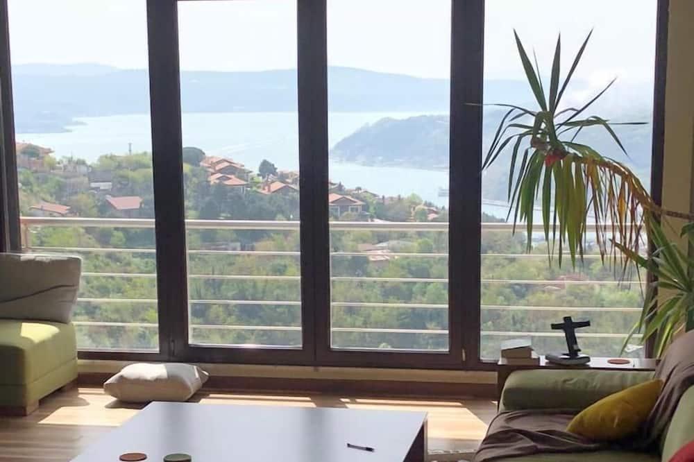 Apartmán, výhľad na more - Obývacie priestory