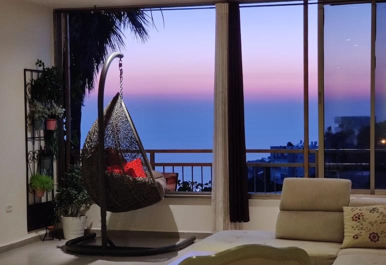 Orbanica Carmel, Haifa, Deluxe Apartment, Living Area