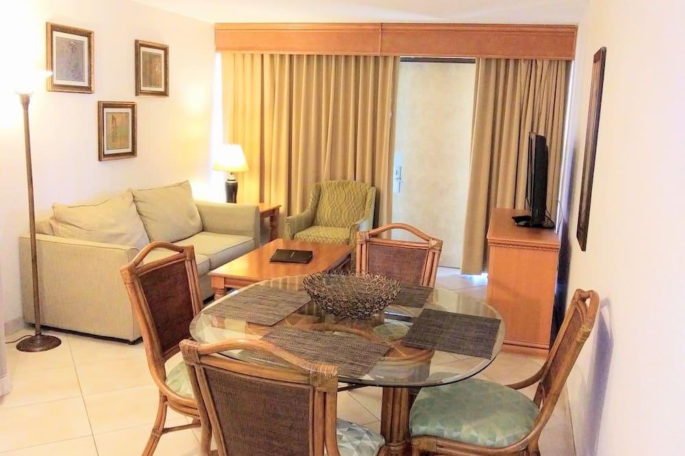 Soukromý byt typu Deluxe - Obývací prostor