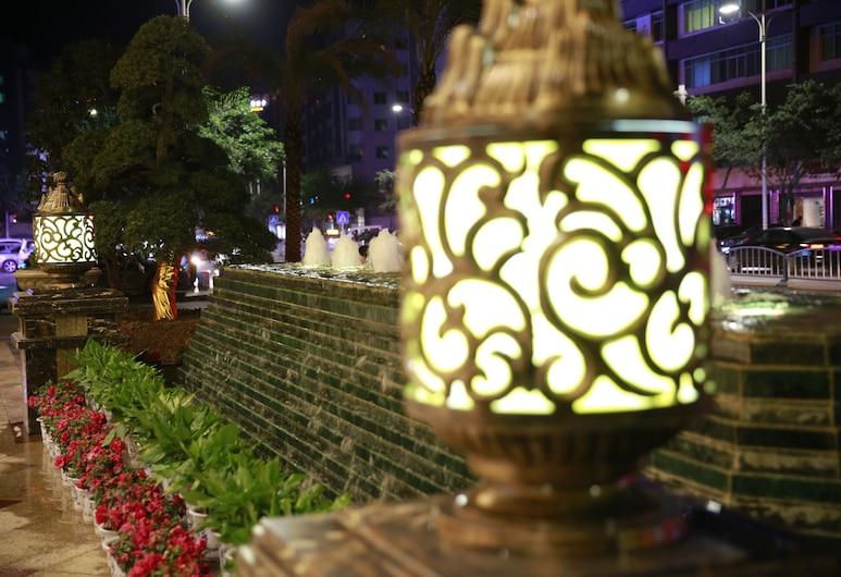 Tianyue Minshan Hotel, Bazhong, Hotel Front