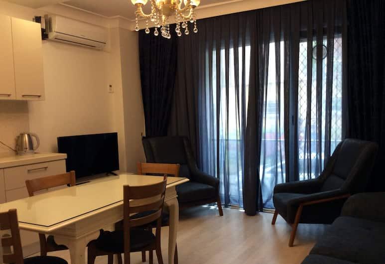 Nupelda Residence, Istanbul, Appartamento, 2 camere da letto, vista città, Soggiorno