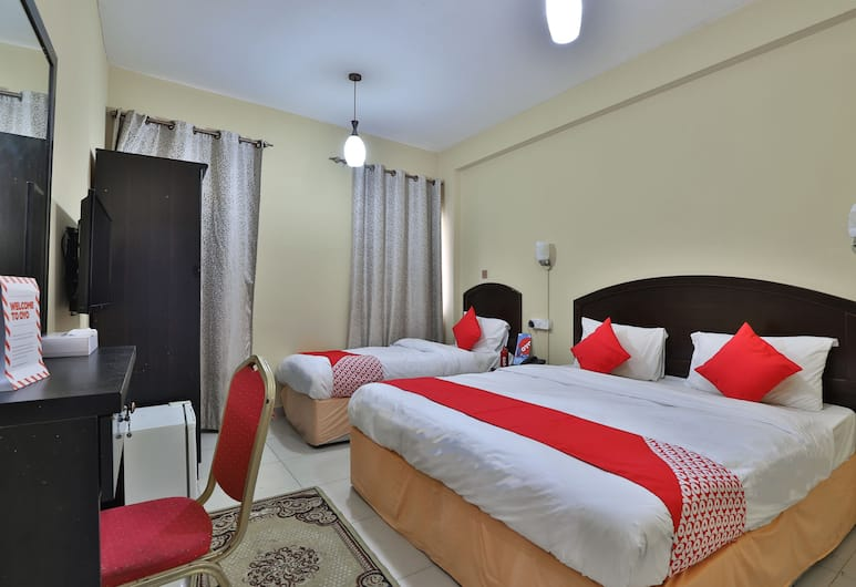 OYO 240 Seattle Hotel, Dubai, Family Room, Guest Room