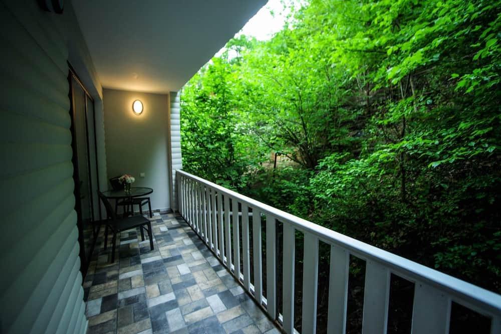 Habitación con 2 camas individuales, balcón - Balcón