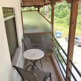 Studio, Bergblick - Balkon