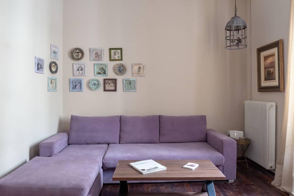 Lejlighed - 6 soveværelser - terrasse - Stue