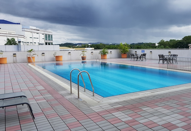 The Centrepoint Hotel, Bandar Seri Begawan, Outdoor Pool