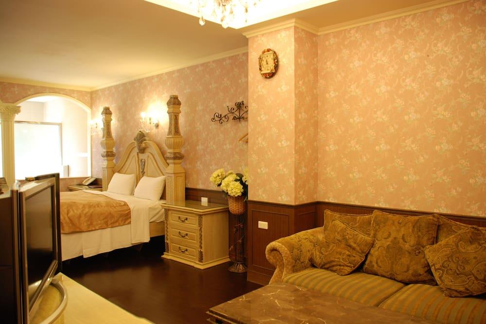 Paaugstināta komforta divvietīgs numurs, skats uz kalniem - Dzīvojamā istaba