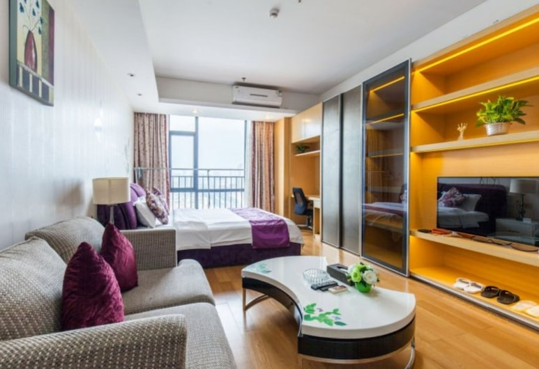 Bojing•Hopson Plaza Apartment Hotel(Room 1803 ), Guangzhou, Premier Double Room, City View, Guest Room
