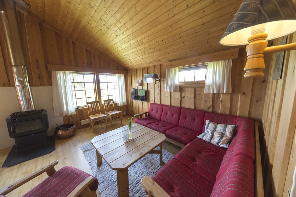 Family Cabin, 2 Bedrooms (linen & towels not included) - Living Room