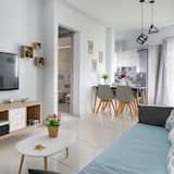 Apartmán, 1 spálňa (E) - Obývacie priestory