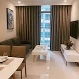 Deluxe Apart Daire, 2 Yatak Odası - Oturma Alanı