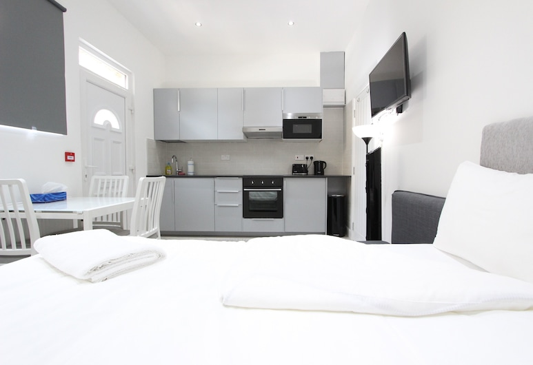 Cosy Edgware Road Apartments Paddington, Лондон, Студія (0, 412), Номер