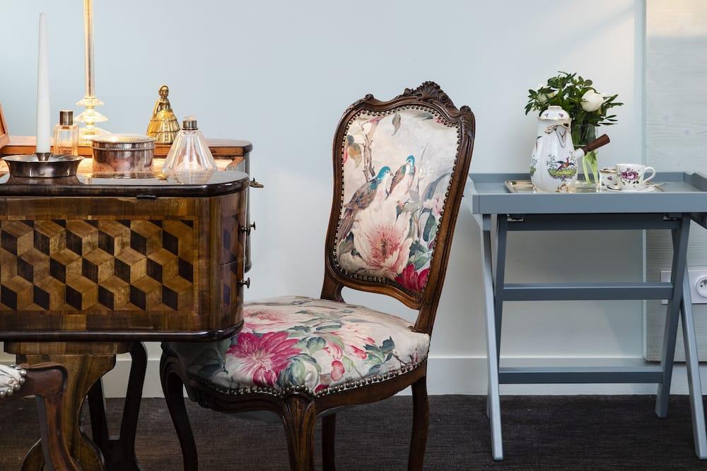 Izba typu Deluxe (Les Oiseaux) - Obývacie priestory