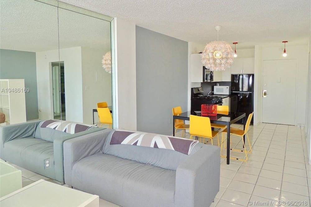 標準開放式客房 (0 Bedroom) - 客廳