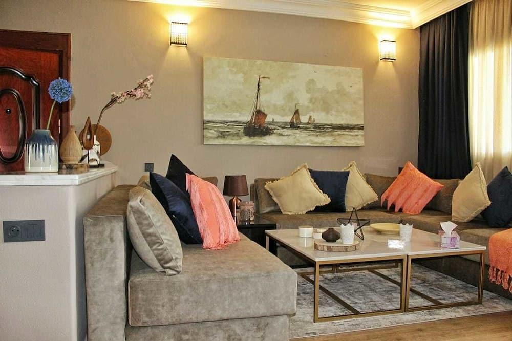 apartman, 3 hálószobával - Nappali rész