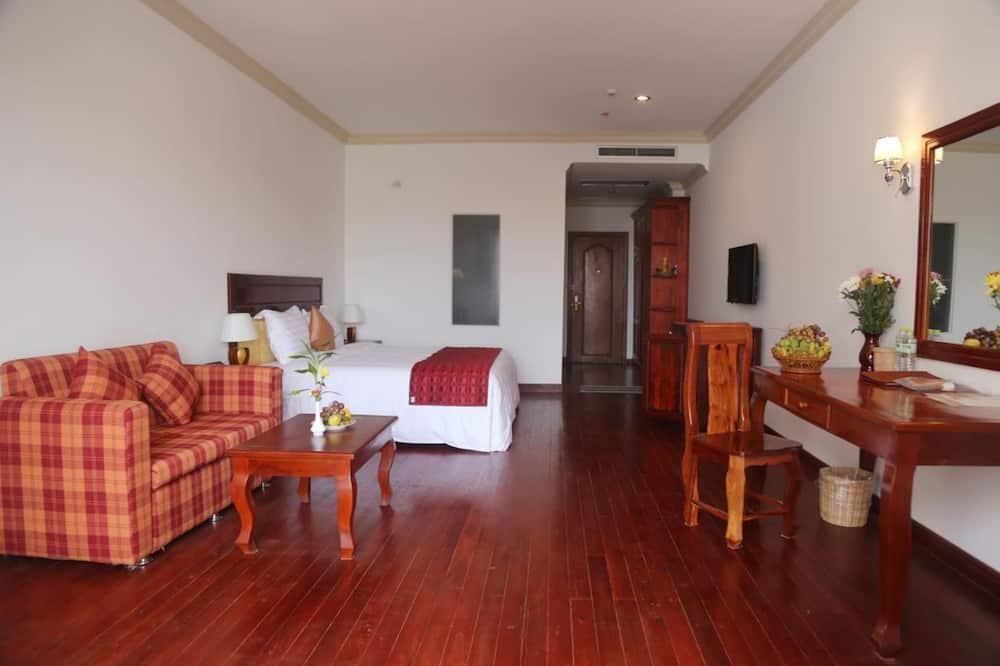Premier-værelse - balkon - byudsigt - Stue