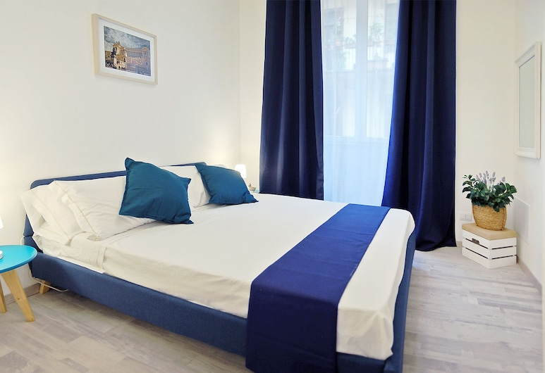 Pompeo Magno White Luxury Apartment, Roma, Exclusive Apart Daire, 3 Yatak Odası, 2 Banyolu, Şehir Manzaralı, Oda