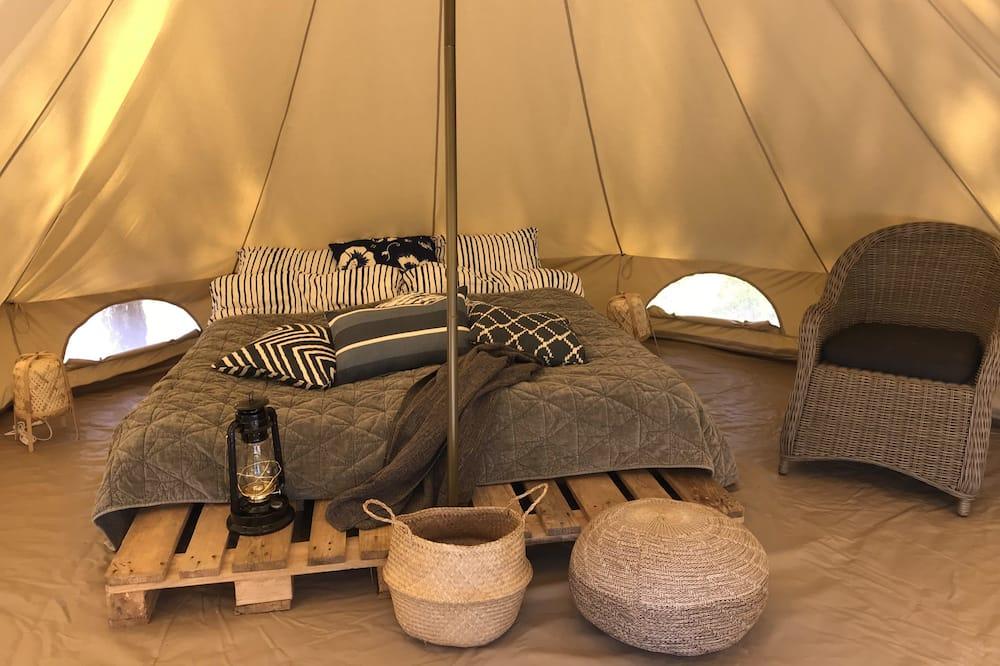 Tienda de campaña/carpa exclusiva, vista al mar - Sala de estar