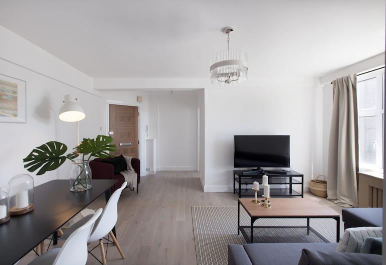 阿洛莊園園西酒店, 倫敦, 公寓, 1 間臥室, 客廳