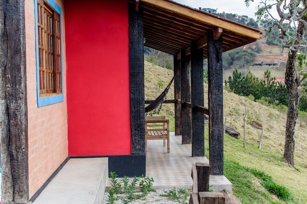Chalet, Jetted Tub, Mountain View - Balcony