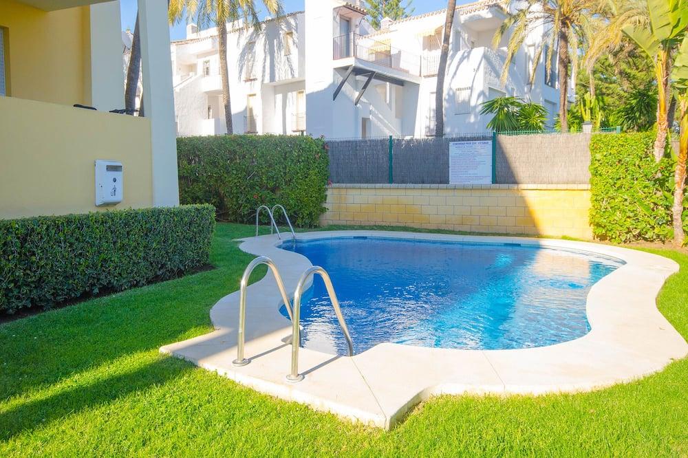 ファミリー アパートメント エンスイート シービュー (Apartamento Pilar) - プール